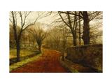 Stapleton Park, Pontefract Reproduction procédé giclée par John Atkinson Grimshaw
