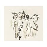 Zoological Garden II Giclee Print by Auguste Macke