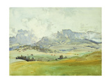 In the Dolomites Giclee Print by John Singer Sargent