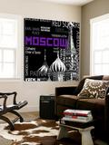 Moskva Posters av  Top Creation