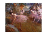 Dancers in Pink Giclee Print by Forain Jean Louis