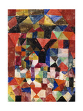 Stadtartiger Building Giclee Print by Paul Klee