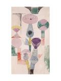 Thistle Bloom Giclee-trykk av Paul Klee