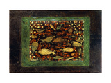 Aquarium Giclée-tryk af Paul Klee