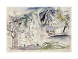 In Florida Reproduction procédé giclée par Jules		 Pascin