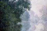 Morning on the Seine, Effect of Mist Lámina giclée por Claude Monet