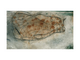 Sleeping Cat Giclée-tryk af Paul Klee