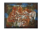 Chinese Porcelain Giclee Print by Paul Klee