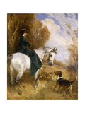 The Pride of the Hunt Giclée-tryk af John		 Charlton