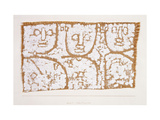Three Figures Giclee Print by Paul Klee