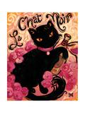 Le Chat Noir Reproduction procédé giclée par Natasha Wescoat