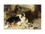 Motherless: The Shepherd's Pet Giclée-tryk af Walter Hunt