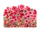 Brightly Blooming Reproduction procédé giclée par Natasha Wescoat
