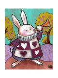March Hare Reproduction procédé giclée par Natasha Wescoat