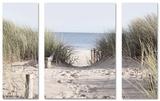 Set Come To The Beach 30x80/60x80 Kunstdruck
