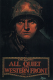 All Quiet on the Western Front Movie Louis Wolheim Lew Ayres Plastic Sign Placa de plástico