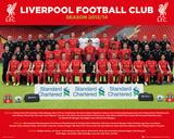 Liverpool - Team 13/14 Poster