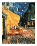 Cafe at Night Fotografia por Vincent van Gogh
