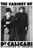 The Cabinet of Dr Caligari Movie Werner Krauss Plastic Sign Placa de plástico