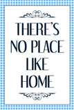 There's No Place Like Home Wizard of Oz Movie Quote Plastic Sign Placa de plástico