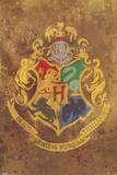 Harry Potter - Hogwarts Crest Plakater
