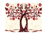Wedding Tree Reproduction procédé giclée par Natasha Wescoat