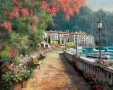 Morgenspaziergang Kunstdrucke von T. C. Chiu