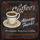 The Coffee House Print by Conrad Knutsen