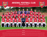 Arsenal - Team 2013/2014 Poster