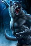 Werewolf by Tom Wood Plastic Sign Signe en plastique rigide par Tom Wood
