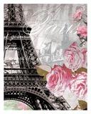 Paris in Bloom I - Mini Affiches par Natalie Alexander