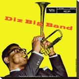 Dizzie Gillespie (Big Band) Stretched Canvas Print