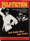 Pulp Fiction (Twist Contest) Toile tendue sur châssis