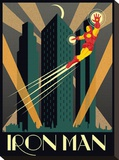 Iron Man Stretched Canvas Print