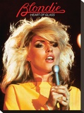 Blondie, Heart Of Glass Stretched Canvas Print