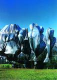Wrapped Trees Nr. 12 (Riehen) Photographic Print by  Christo