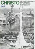Barcelona-Verpacktes Kolumbus Denkmal Collectable Print by  Christo