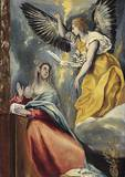 Verkündigung Lámina giclée por  El Greco