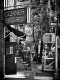 Urban Scene, Corner Bistro, Meatpacking and West Village, Manhattan, New York Fotografisk trykk av Philippe Hugonnard