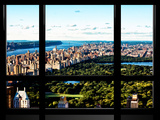 Window View, Special Series, Central Park and Upper Manhattan Views, New York Impressão fotográfica por Philippe Hugonnard