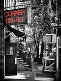 Urban Scene, Corner Bistro, Meatpacking and West Village, Manhattan, New York Impressão fotográfica por Philippe Hugonnard