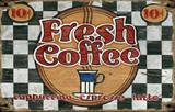 Fresh Coffee Wood Sign Wood Sign