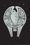 The Fastest Falcon in the Universe Snorg Tees Plastic Sign Placa de plástico por  Snorg