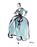 L'Heure Bleue Poster von Mona Shafer-Edwards