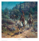Comanche Moon Print by Martin Grelle