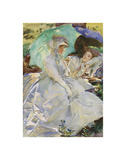 Simplon Pass: Reading, about 1911 Prints by John Singer Sargent