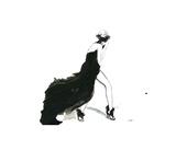 Valentino Haute Couture Giclee-trykk av Jessica Durrant