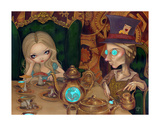 Alice and the Mad Hatter Posters par Jasmine Becket-Griffith