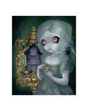 Miss Havisham Affiche par Jasmine Becket-Griffith