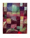 Motif from Hammamet, 1914 (No 57) Reproduction procédé giclée par Paul Klee